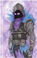 Fortnite Battle Royale Raven Skin by ChrisOzFulton