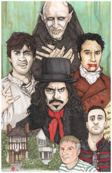 What We Do In The Shadows Jemaine Clement by ChrisOzFulton