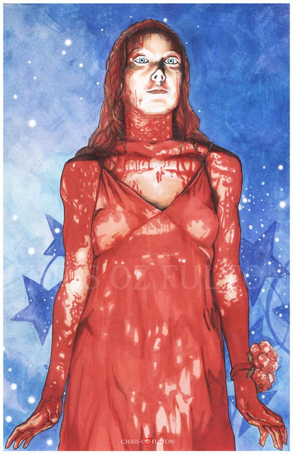 Carrie White Stephen King by ChrisOzFulton