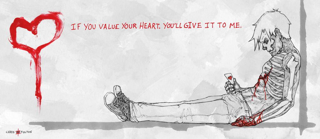 Hobo Heart Valentine's Day Creepypasta by ChrisOzFulton