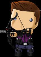 Lil Hawkeye by KevinRaganit