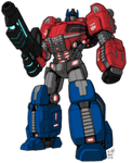 Optimus Prime of Cybertron by KevinRaganit