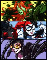 DC Gotham Sirens by KevinRaganit
