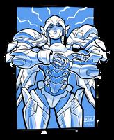 Overwatch Pharah Knuckles by KevinRaganit