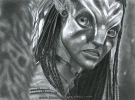 Neytiri at War by Kim1486