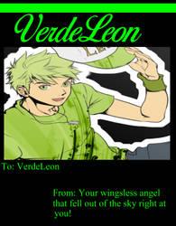 Happy Belated Birthday VerdeLeon by jyaconiello