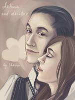 Arthur and Ariadne by MeryChess