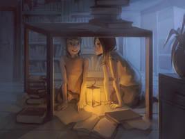 Kanda and Alma by MeryChess