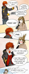 Mystic Messenger 707 route - day 9 by MeryChess