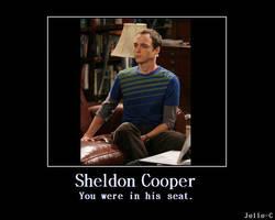 Sheldon Cooper's Seat by Jelle-C
