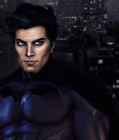 Bruce Wayne by gokcegokcen