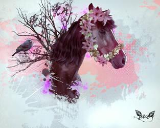 Horse by DieBrautDesWolfes