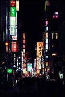 Japan - Street Night 2 by NicoFX