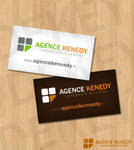 logo agence kenedy by DeKey-s