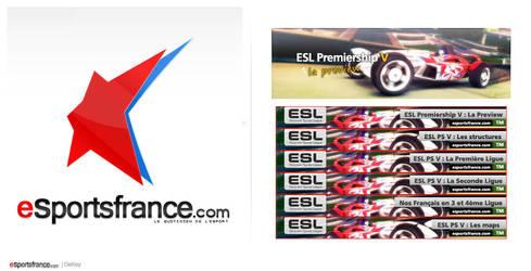 bannieres eSportsfrance esl by DeKey-s
