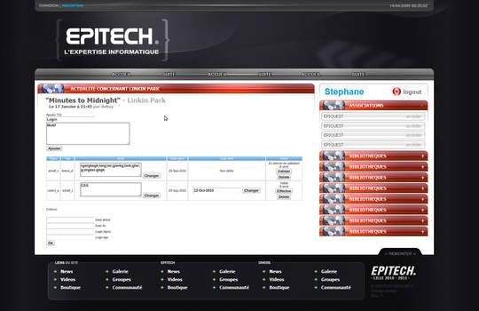 Epitech intranet by DeKey-s