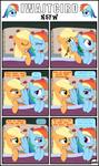 Why Me!? - Rainbow Dash Ending NSFW - 01 by Gutovi