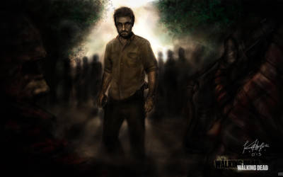Walking Dead by kurolayefahowugah