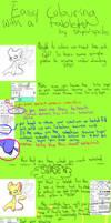 Simple colouring tutorial .SAI by Stupid-Sprites