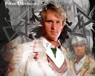 The Fifth Doctor again by Vanessa28