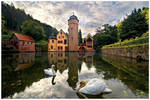 Schloss Mespelbrunn by jendrynDV