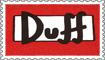 Duff Stamp by engineerJR
