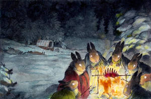 the donner rabbits by luve