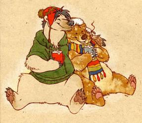 zho-lar bear and flir-burr by luve