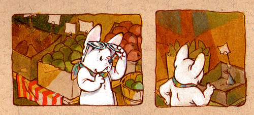 frenchie doodles by luve