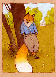 skbk fox gentleman by luve