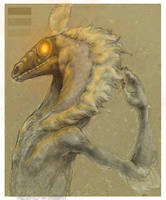 dirt dragon beasty by luve