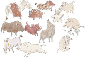 boars 3 by luve