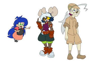 Fth Main crew by SeigneurRuei
