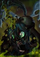 Queen Chrysalis by Toonlancer