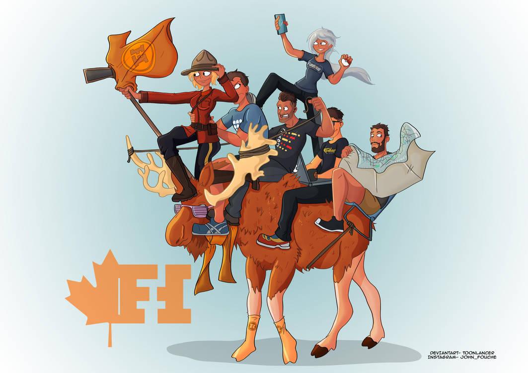 Funhaus Canada trip Fanart by Toonlancer