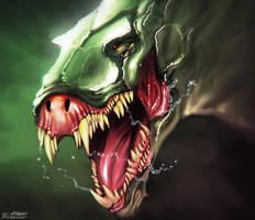 Mutant Dinosaur by SeaMonkey1
