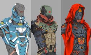 Armor concepts by SeaMonkey1