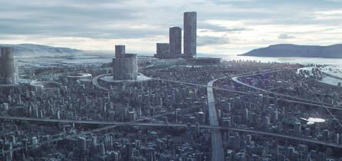 Future City by SeaMonkey1