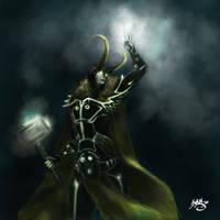 Tron Loki by KillMeInk