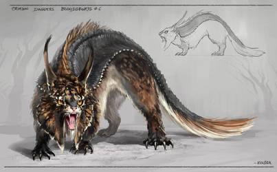 monster : bloodsports 6 by Kolsga