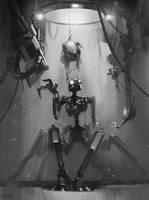 naked robot by Kolsga