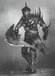 Fish Gladiator by Kolsga