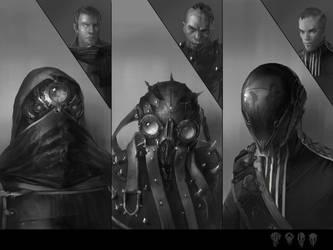 helmets concepts by Kolsga