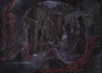 Autumn Gates by DreamMaze