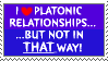 Platonic Relationships by RisingSunfish