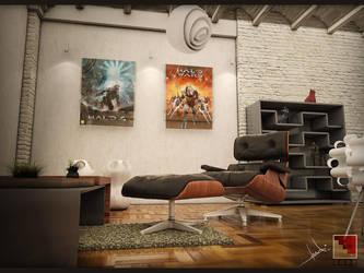 interior scene by TeddyLuck