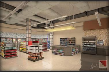 Briseno Store Interior by TeddyLuck