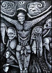 Christ desillusion by jeremyfamir