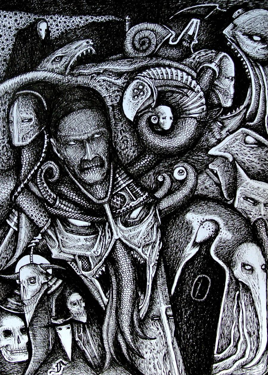 my dark mind by jeremyfamir