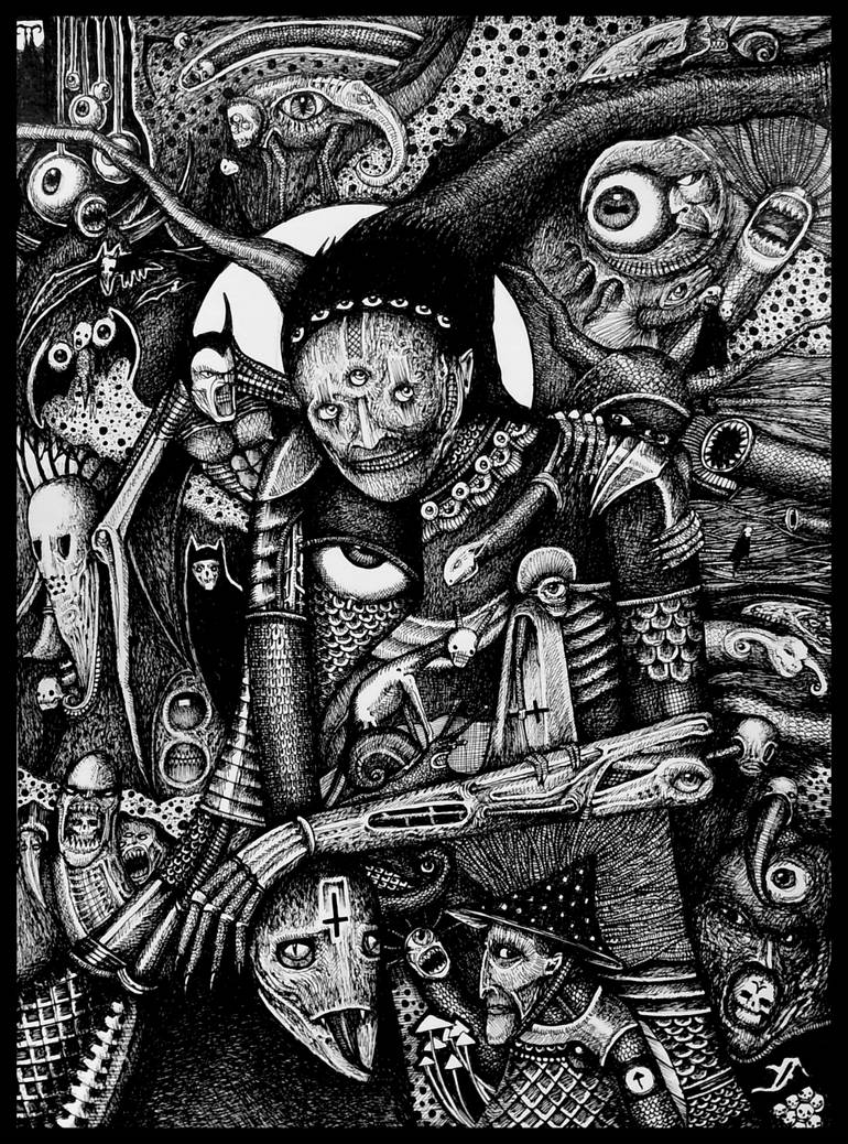 DEMON WITCH by jeremyfamir
